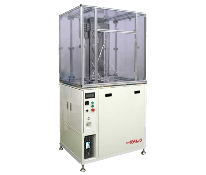 【事例紹介】フッ素系洗浄液用1槽式自動洗浄装置