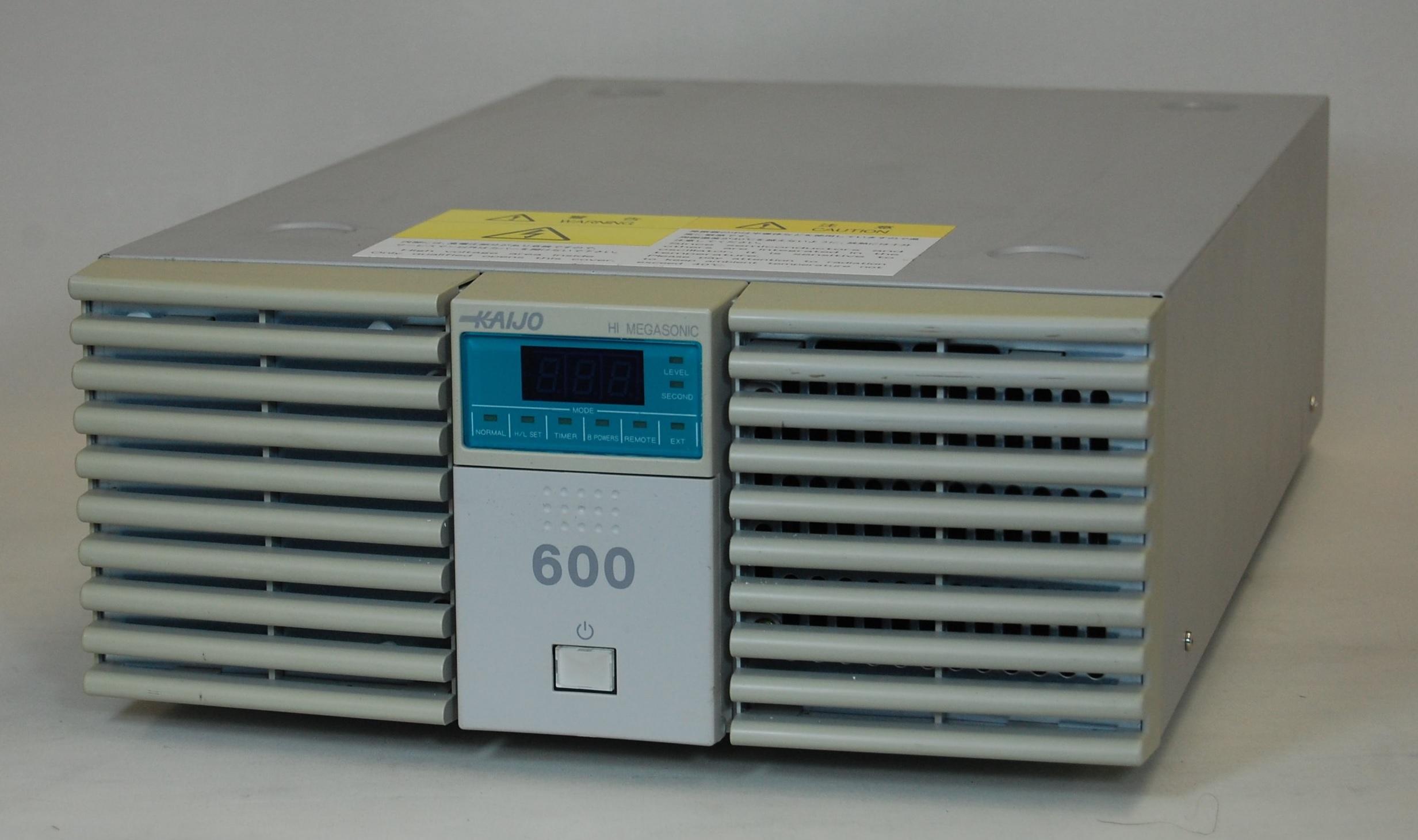 【展示室】展示機器の紹介 ハイメガソニックシリーズ68101型発振器