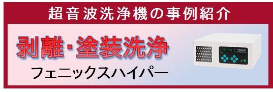 【事例紹介】剥離と塗料洗浄 (フェニックスハイパー)