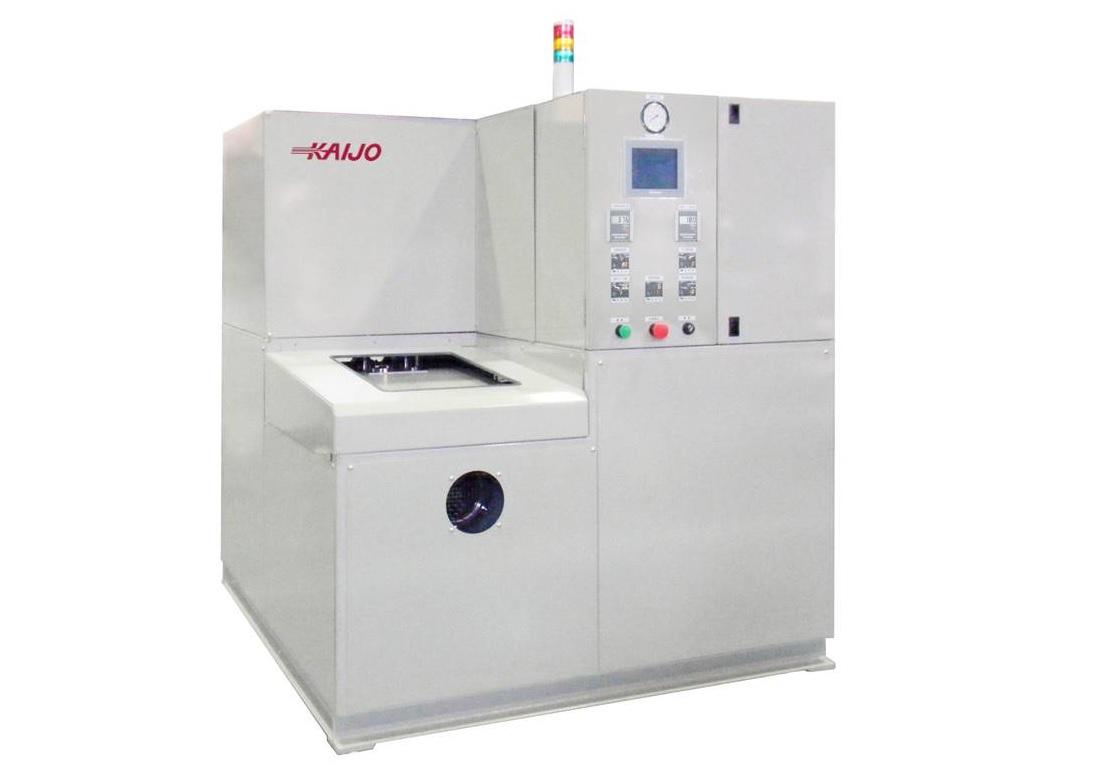 【事例紹介】小型1槽式真空洗浄装置